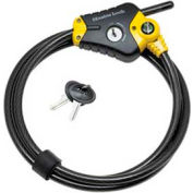 Master Lock® Python™ Adjustable Locking Cable, Price Each Sold Pack of 2 - Pkg Qty 2