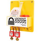Master Lock® Compact Lockout Center, Circuit Breaker Lockout, S1720E410