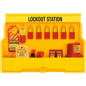 Master Lock® Lockout Station With Electrical Lockout Devices, S1850E1106