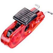 Master Lock® Miniature Circuit Breaker Lockout, Standard Toggles, Black Tab - Pkg Qty 16