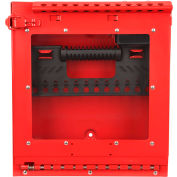 MasterLock® Wall Mount Group Lock Box With Window, Red, S3502