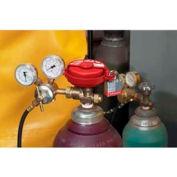 "Master Lock® Pressurized Gas Valve Lockout, Use For Up To 3"" Dia. Valves - Pkg Qty 12"