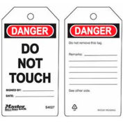 Master Lock® Safety Tag, Do Not Touch - Pkg Qty 2