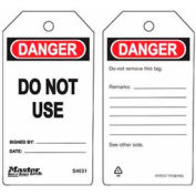 Master Lock® Safety Tag, Do Not Use