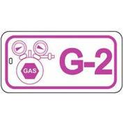 Master Lock® Gas Lockout Isolation Id Tag, G-2 - Pkg Qty 50