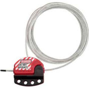 Master Lock® Cable Lockout, 15' - Pkg Qty 6
