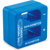 Master Magnetics Small Tools Screwdriver Magnetizer Demagnetizer 07524 with Separate Areas