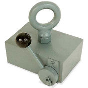 Master Magnetics Magnetic Block with Cam Release, Multiple-pole, 450 Lb. Lift