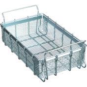"Marlin Steel Material Handling Basket 21""L x 13-1/4""W x 5-7/16""H Plain Steel - Price Each for Qty 5+"