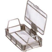 Marlin Steel Small Parts Wire Basket Lid 24 Openings / Liner Inch 5x3x1 Steel Price Each for Qty 1-4