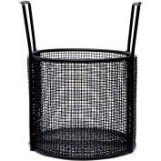 Marlin Steel Coated Steel Mesh Basket 10x8 Round Mesh/Coated, Price Each for Qty 5+