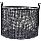 Marlin Steel Coated Steel Mesh Basket 14x10 Round Mesh/Coated, Price Each for Qty 5+
