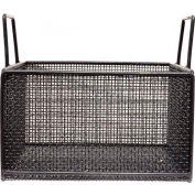 Marlin Steel Coated Steel Mesh Basket 14x14x8 Plastic Coated, Price Each for Qty 5+