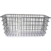 Marlin Steel Nesting Wire Baskets 16x24x10 Chrome Plated, Price Each for Qty 1-4