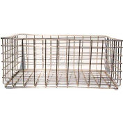 Marlin Steel Wire Stacking Basket, Price Each for Qty 5+