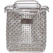 Marlin Steel Stainless Mesh Baskets, Price Each for Qty 1-4