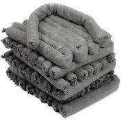 """MBT Gray Universal Absorbent Socks, 30/Case, 4'L x 3""""W"""