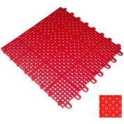 "Mateflex II Outdoor Tennis Tile 350023, 12""L X 12""W, Orange"