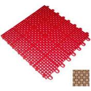 """Mateflex II Outdoor Tennis Tile 350031, 12""""L X 12""""W, Desert Sand"""