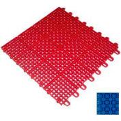 """Mateflex II Outdoor Tennis Tile 350041, 12""""L X 12""""W, Royal Blue"""