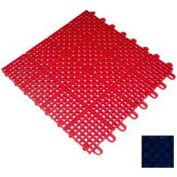 """Mateflex II Outdoor Tennis Tile 350043, 12""""L X 12""""W, Navy Blue"""