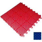 """Mateflex II Outdoor Tennis Tile 350046, 12""""L X 12""""W, Performance Blue"""