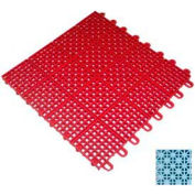 """Mateflex II Outdoor Tennis Tile 350069, 12""""L X 12""""W, Ice Blue"""