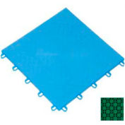 "Mateflex ProGym Multi-Sport Indoor Tile 363312, 12""L X 12""W, Bright Green"