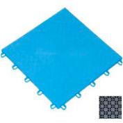 "Mateflex ProGym Multi-Sport Indoor Tile 363315, 12""L X 12""W, Silver Metallic"