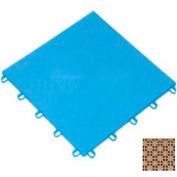 "Mateflex ProGym Multi-Sport Indoor Tile 363331, 12""L X 12""W, Desert Sand"