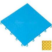 "Mateflex ProGym Multi-Sport Indoor Tile 363363, 12""L X 12""W, Yellow"