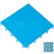 "Mateflex ProGym Multi-Sport Indoor Tile 363369, 12""L X 12""W, Ice Blue"