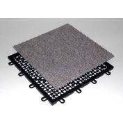 """Mateflex CarpetFlex Indoor Tile 371036, 12-1/8""""L X 12-1/8""""W, Tan"""