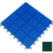 """Mateflex HomeCourt Multi-Sport Outdoor Tile 451318, 12""""L X 12""""W, Sport Green"""