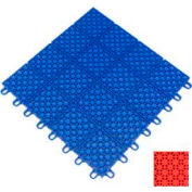 "Mateflex HomeCourt Multi-Sport Outdoor Tile 451323, 12""L X 12""W, Orange"