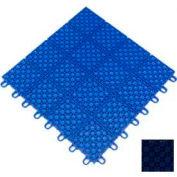 """Mateflex HomeCourt Multi-Sport Outdoor Tile 451343, 12""""L X 12""""W, Navy Blue"""