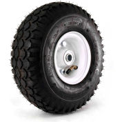 "Martin Wheel Kenda K352 Stud Tire on 2-piece Wheel 354M-ST-34BB - 410/350-4 - 2-1/8"" Hub x 3/4"" Bore"