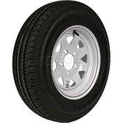 Martin Wheel 175/80R-13 Radial Trailer Tire & Custom Spoke Wheel Assembly