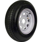 Martin Wheel ST205/75D-14 Trailer Tire & Custom Spoke Wheel Assembly DM205D4C-5CT