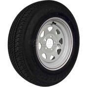 Martin Wheel 205/75R-14 Radial Trailer Tire & Custom Spoke Wheel Assembly