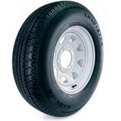 Kenda Loadstar Karrier Radial Trailer Tire - 6-Hole Custom Spoke Wheel (5/4.5) - 225/75R-15 LRD