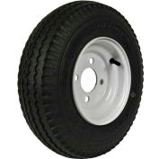 "Martin Wheel 480/400-8 LRB Trailer Tire & Wheel Assembly - Bolt Circle 4"" x 4"" - DM408B-4I"