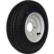 "Martin Wheel 480/400-8 LRB Trailer Tire & Wheel Assembly - Bolt Circle 5"" x 4.5"" - DM408B-5I"