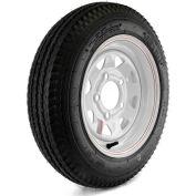 Martin Wheel: Kenda Loadstar Trailer Tire and 5-Hole Custom Spoke Wheel DM412C-5C-I - 480-12, LRC