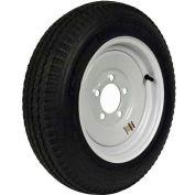 "Martin Wheel 570-8 LRB Trailer Tire & Wheel Assembly - Bolt Circle 5"" x 4.5"" - DM508B-5I"