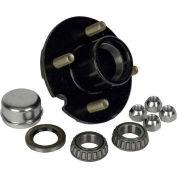 Martin Wheel 4 Bolt Pressed Stud 1-Inch Axle Hub Kit H4-C-PB-B