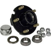 Martin Wheel 5 Bolt Pressed Stud 1-Inch Axle Hub Kit H5-C-PB-B