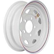 Martin Wheel 10 x 6 4 Hole Custom Spoke Steel Wheel R-125S