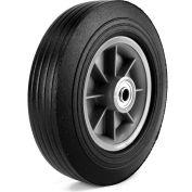 """Martin Wheel 10"""" Heavy Duty Wheel ZP1102RT-2C2 - 10 x 2.75 - 2-1/4"""" x 5/8"""" Centered Hub - Rib Tread"""