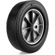 """Martin Wheel 12"""" Heavy Duty Wheel ZP121RT-341 - 12 x 3.00 - 3/4"""" BB x 3-1/4"""" Centered Hub -Rib Tread"""